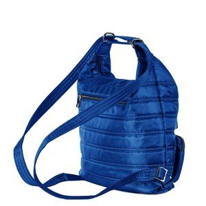 Lug Zipliner Convertible Hobo Bag - Cobalt Blue